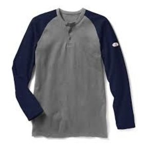 Rasco RASCO FR NAVY/GREY HENLEY FR0401NV/GY