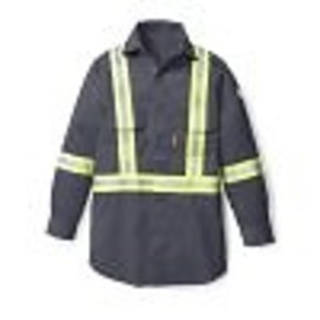 Rasco RASCO HI VIS FR UNIFORM SHIRT FR1403GY