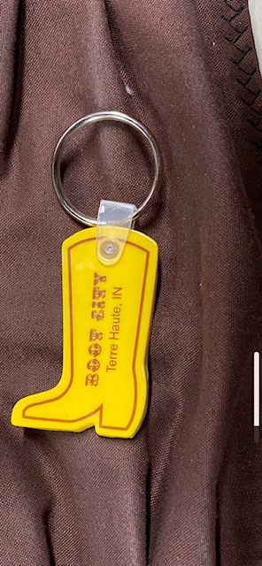4 IMPRINT BOOT CITY KEY CHAIN