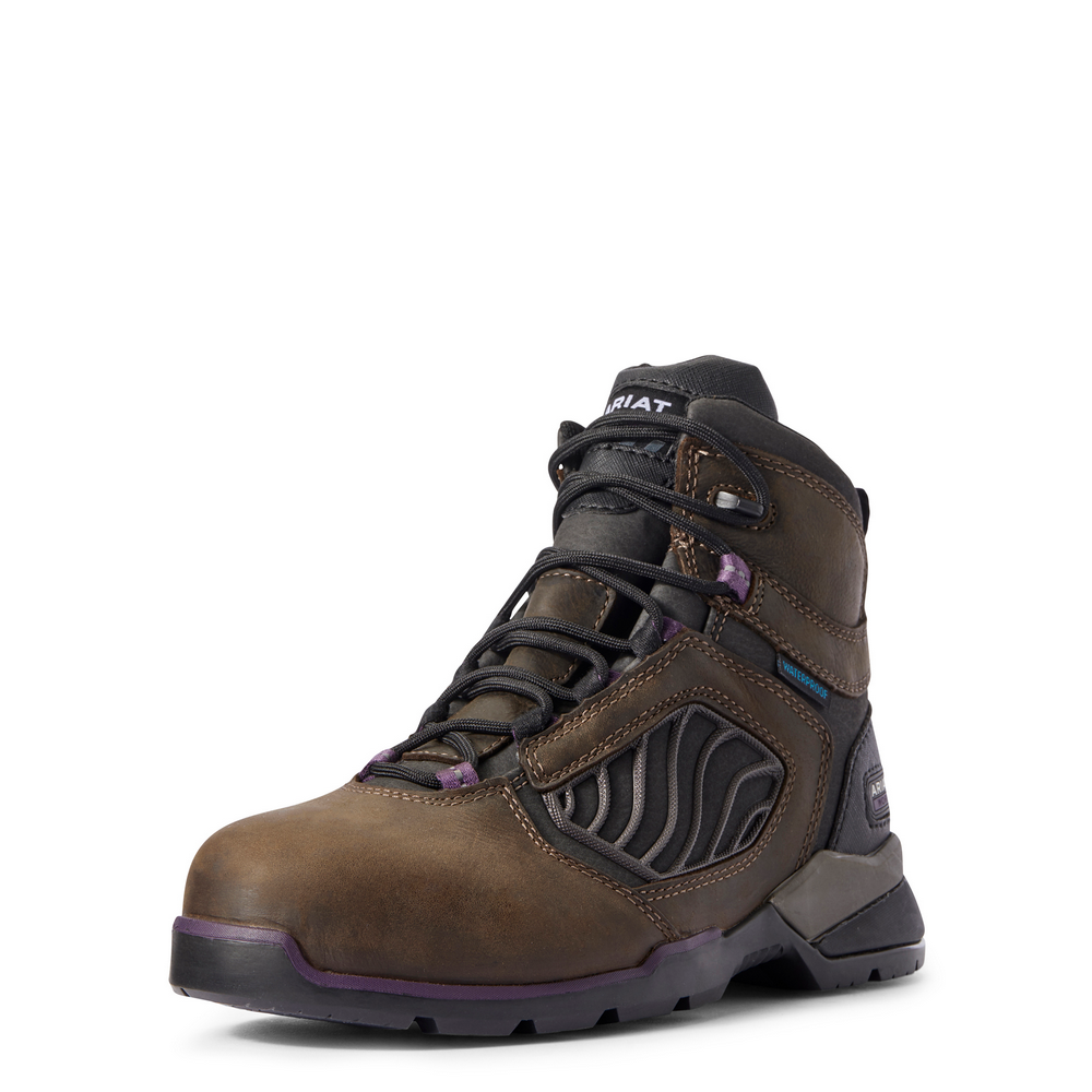 """Ariat Boots ARIAT REBAR FLEX 6"""" H2O CARBON TOE 10031420"""