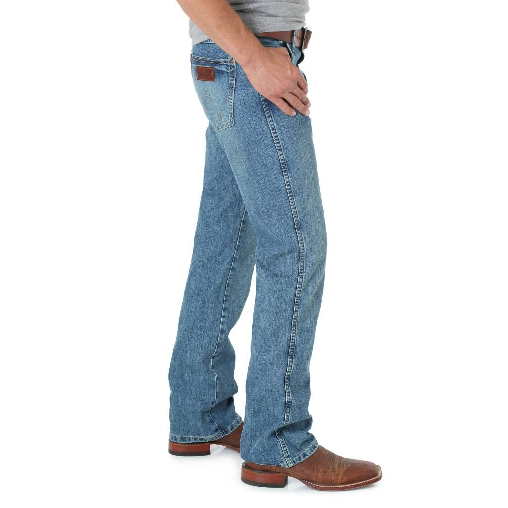 Wrangler WRANGLER RETRO WORN IN SLIM BOOT CUT 77MWZWO
