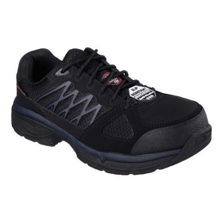 SKECHERS WORK EH SLIP RESIST 77083/BLK