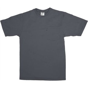 KEY INDUSTRIES KEY PERF COMFORT S/S GREY POCKET TEE 821.03
