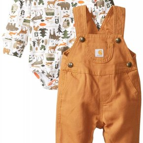 CARHARTT INFANT 2 PC FLEECE SET CG8681