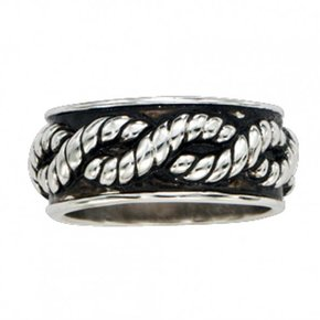 TWISTED ROPE RING RG43
