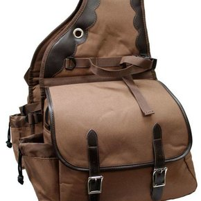 SHOWMAN 600 DENIER DELUXE SADDLE BAG 0110