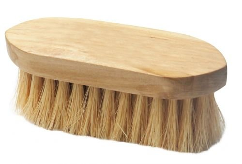 STIFF BRISTLE BRUSH W/WOOD BASE 2120