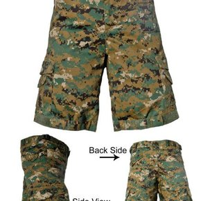 TROOPER CLOTHING WOODLAND TACTICAL SHORT 9503