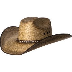 LONE STAR STRAW HAT TORCHED LSR216RCA
