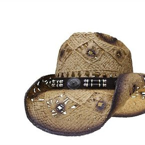 LONE STAR RIVER HAT NAT STRAW WOOD SNL3-13