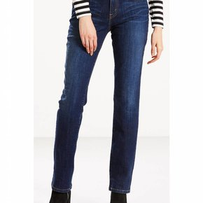 LEVI LEVI LDS STRAIGHT LEG SLEEK BLUE ASH 15505-0111