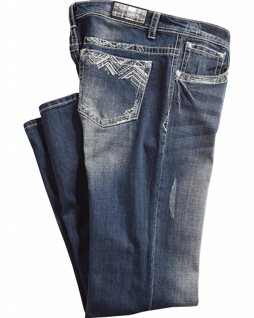 GRACING INC GRACE PLUS SIZE STRAIGHT LEG JEAN PS3157