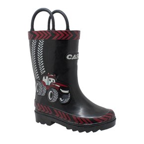 CASE IH BLACK RAIN BOOTS CI5003T