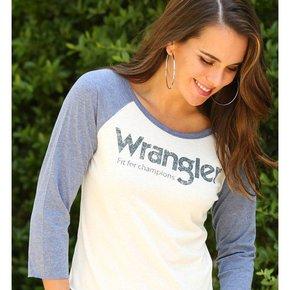 Wrangler BASEBALL TEE W/ WRANGLER LOGO