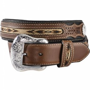 Nocona Fabric Insert Belt N2475701