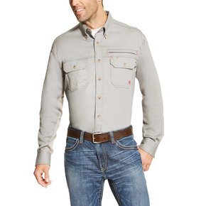 ARIAT FR SOLID VENT SHIRT 10019063