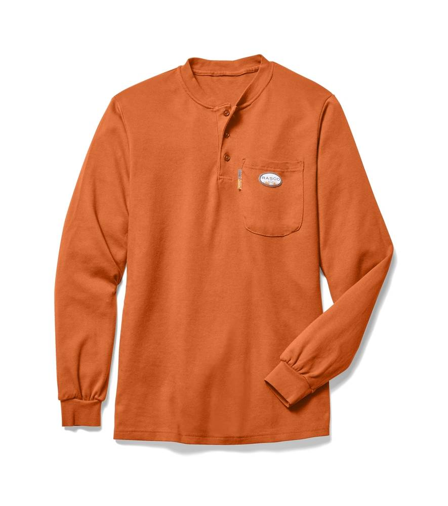 Rasco RASCO FR ORANGE HENLEY FR0101OR