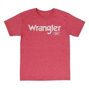 Wrangler WRANGLER TEE RED MQ7757R