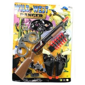 WILD WEST COWBOY PLAY SET