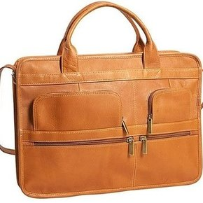 CHARLIE LEATHER MESSENGER BAG 21712
