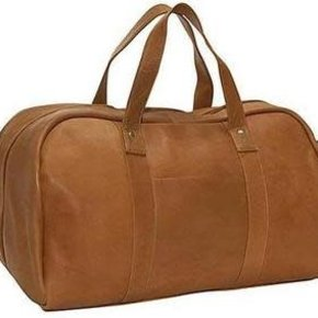 CHARLIE LEATHER DUFFLE BAG 23082