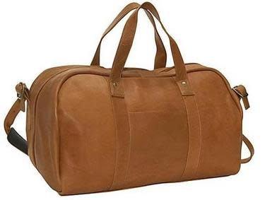 CHARLIE LEATHER DUFFLE BAG 23082