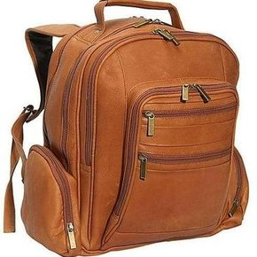 CHARLIE LEATHER LAPTOP BACKPACK 23492