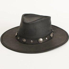 Minnetonka Moccasins Minnetonka Hat-blk Flat Band 9519