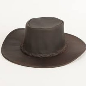 Minnetonka Moccasins MINNETONKA DK BRWN HAT 9523