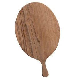 "Acacia Wood Cheese/cutting board 10"""