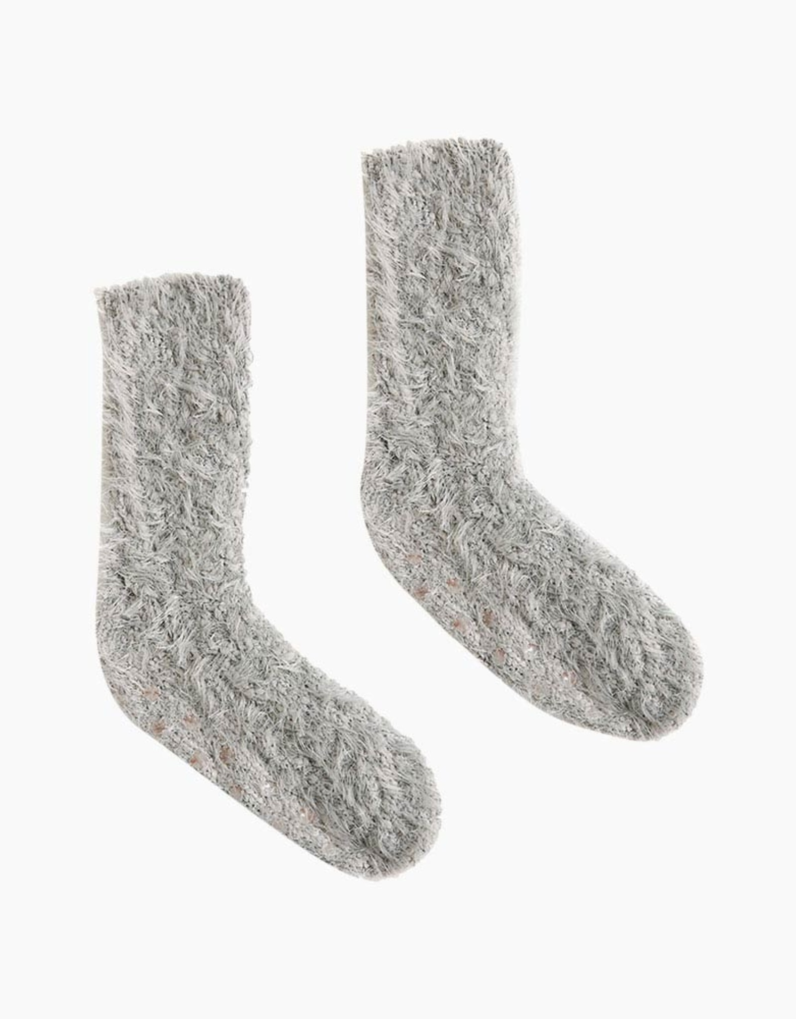 Demdaco The Giving Socks-Taupe