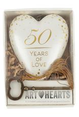 Demdaco Art Heart 50yr Anniversary