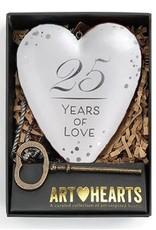 Demdaco Art Heart 25yr Anniversary