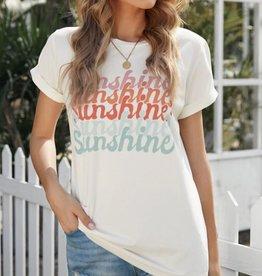 Shewin Inc. Sunshine Tee - Classic Crew Neck