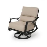 Heritage Cushion Spring Swivel Club Chair