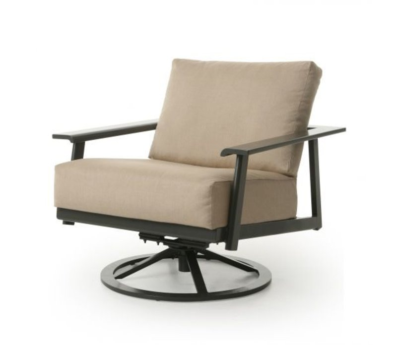 Dakoda Cushion Spring Swivel Club Chair