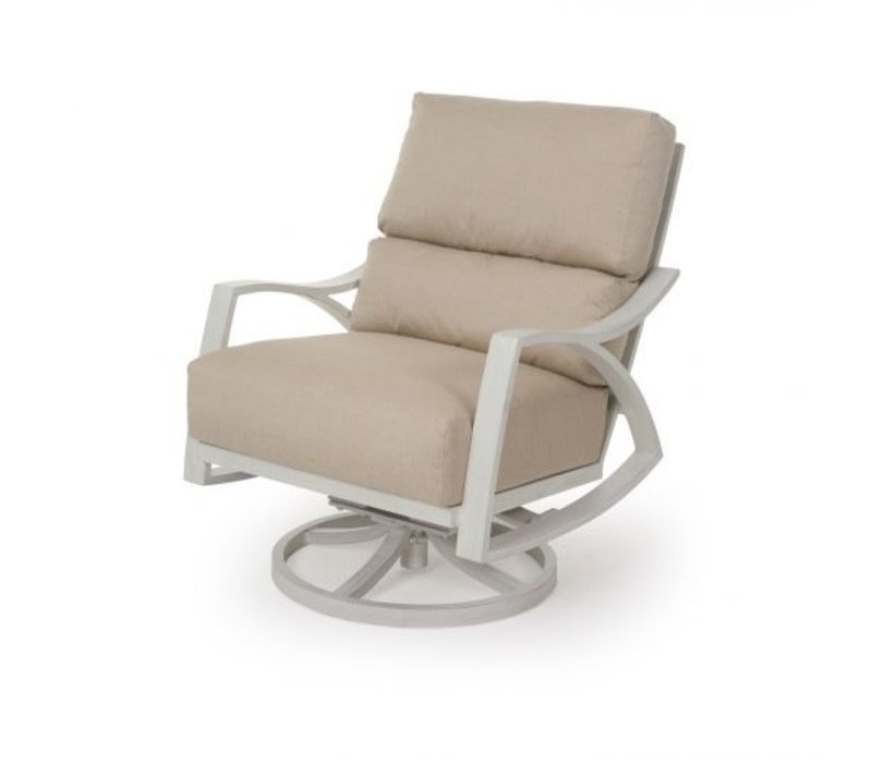 Heritage Woven Cushion Spring Swivel Club Chair