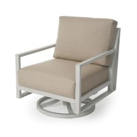 Madeira Cushion Spring Swivel Club Chair