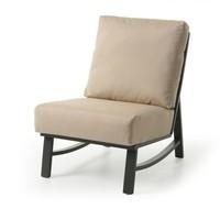 New Haven Woven Cushion Armless Club Chair