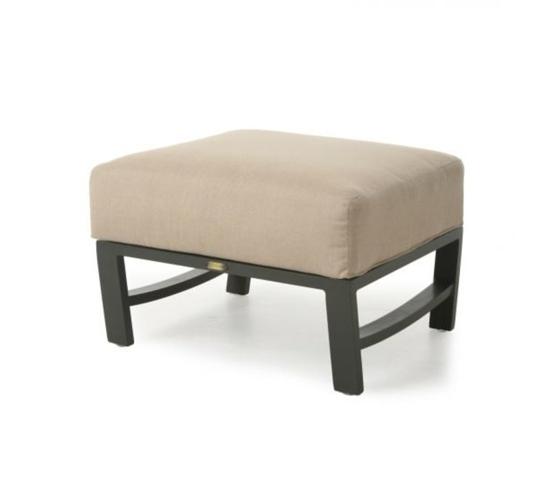 New Haven Woven Cushion Club Ottoman