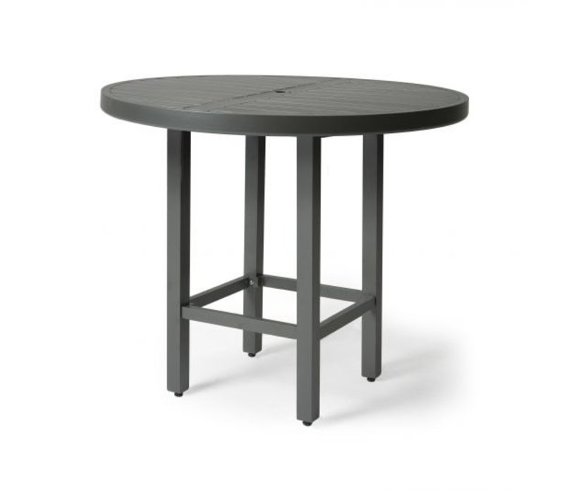 Trinidad 3000-Aluminium Bar Height Table 42 Round