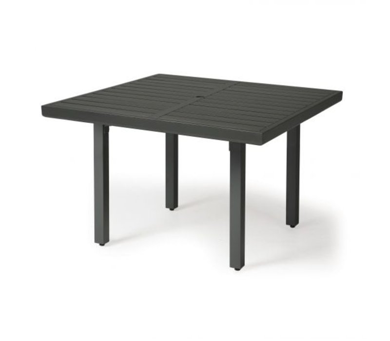Trinidad 3000-Aluminium Dining Table 42 Square