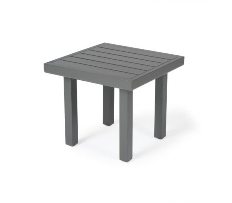 Trinidad 3000-Aluminium End Table 22 Square