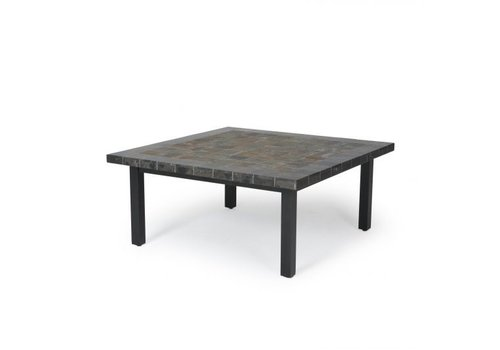 Trinidad J-Top-Slate Coffee Table 42 Square