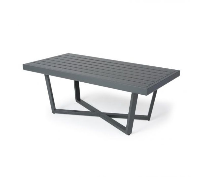 Formosa 5000-Aluminium Coffee Table 26 X 48 Rect