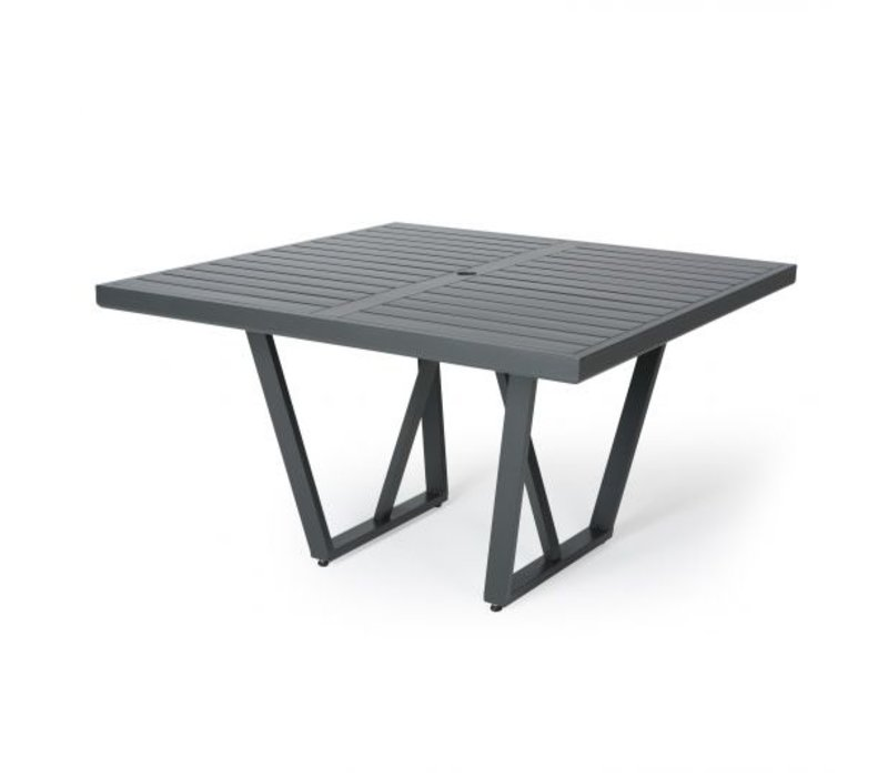 Formosa 5000-Aluminium Dining Table 48 Square