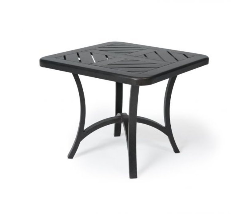 Fulton 4000-Aluminium End Table 27 Square