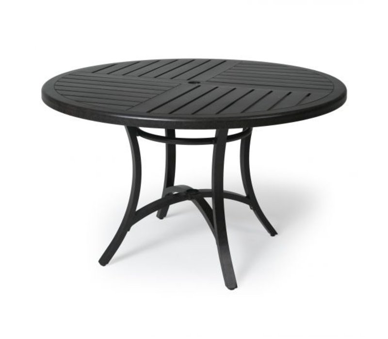 Fulton 4000-Aluminium Dining Table 48 Round