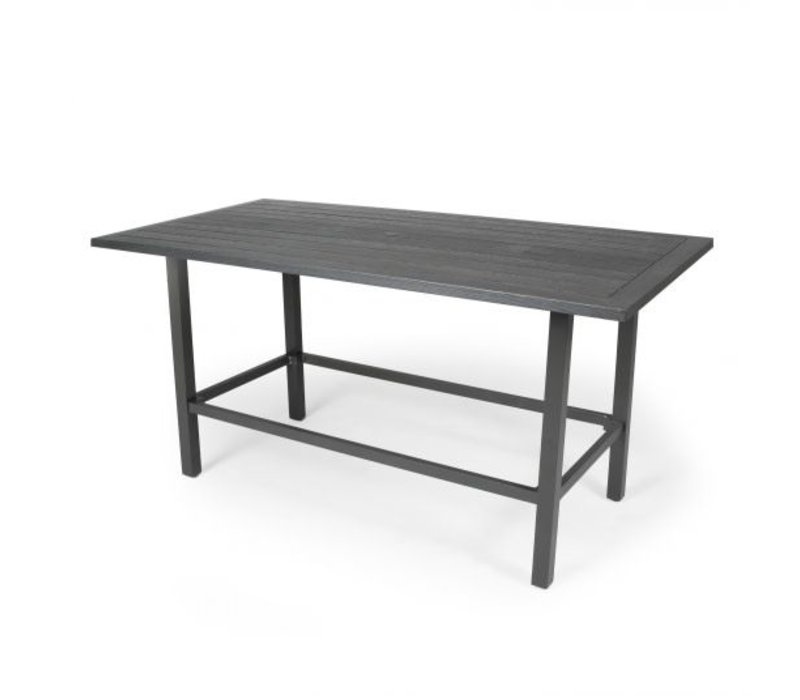 Trinidad W-Top-Aluminium Counter Height Table 36 Square