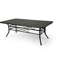 Napa 9000-Cast Dining Table 44 X 86-128 Ext